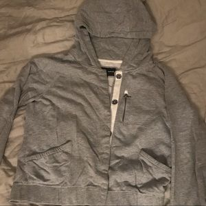 Hurley Tops - Hurley button up hooded sweatshirt